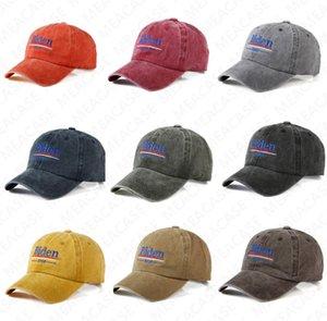 Joe BIDEN Hat Biden 2020 Embroidered Letter Peaked Hats USA Election Designer Baseball Ball Caps Summer Sun Hats Outdoor Visor Cap D7612