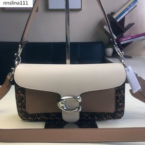 One shoulder slung bag with lady's polished cobblestone leather, delicate calf leather interior zipper multifunctional pocket clasp