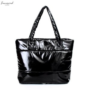 New Hot Fashion Women Single Shoulder Bag Tote Space Pad Cotton Feather Down Handbag Smr88