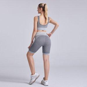wsVCb verano ropa deportiva yoga de secado rápido de la formación de ropa interior ropa interior ropa de Yoga clothinggathering funcionamiento de tres partes pantalones mujer