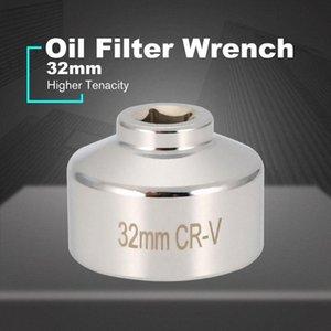 Масляный фильтр Ключ 32мм Флейты раструба квадратным хвостовиком Cap Remover инструмент Авто Ремонт Инструменты Удалить канистра Корпус 1HsC #