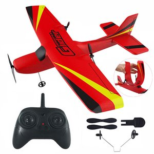 Z50 RC Airplane 2.4G Wireless RC Air Planes EPP Foam Built Gyro Glider 300mAh RC Plane Radio-Controlled Aircraft Toy for Boy Kid T200727