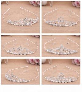 Y Hot Sale Explosion -Proof Diamond Dress Accessories Boutique Bride Crown Hair Hoop Fashion Hair Ornaments Tg017 Mix Order 30 Pieces A