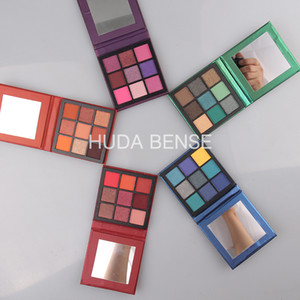 (Disponibile) Hot Hiuda Bense Cosmetics Tablette Tablette Palettes 9 Colore Eyeshadow Palette 5 Style Earth Pearl Eyeshadow Spedizione gratuita
