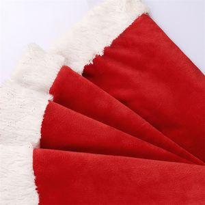 Gonna dell'albero di Natale Tappeto rotondo Tappeto Xmas Tree Gonna Santa Belt Buon Natale Stampato Albero Decor Christmas Capodanno Forniture per feste EWD739