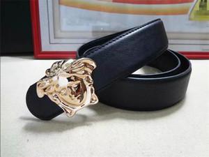 роскошные ремни пряжки подлинной кожаный ремень дизайнер мужчин ремни высокого качества женщин роскошь Версаче бесплатной доставкой