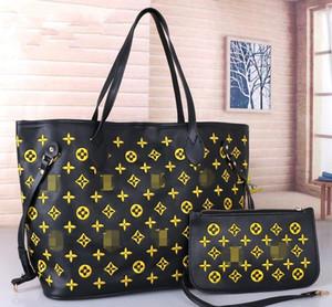 09women handbags ladies designer composite bags lady clutch bag shoulder tote female purse wallet 2pcs set GgValentino