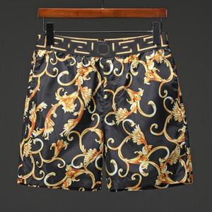 Novo verão Homens Swimwear Praia Shorts calções qualidade de surf quente calções mens polo placa da natação calças M-3XL