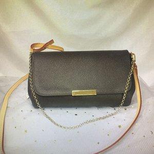 패션 좋아하는 가방 체인 핸드백 여성 IVCW EBENE 크로스 바디 캔버스 어깨 가방 가죽 M40718 Azur Damier Body Cross Bag Classic N4 WXLD