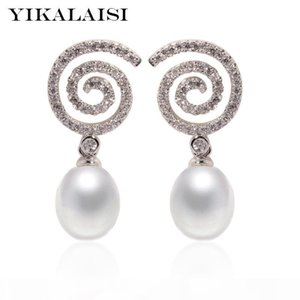 wholesale 925 Sterling Silver Jewelry for office women Natural Pearl jewelry For Women 8-9mm pearl designers 2018 new fashion