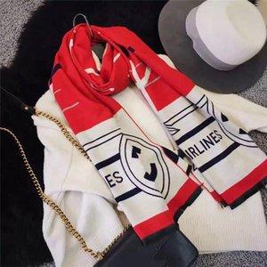 High quality Chanê II scarf shawl winter classic design ladies luxury ladies scarf cashmere winter warm scarf