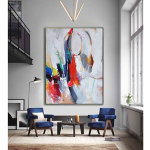 Europe Style Abstract Modern Oil Painting on Canvas Hand painted painting on cavnas home hotel wall Art no Framed no stretched