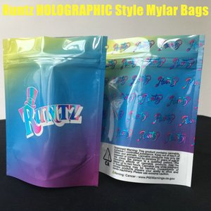 2020 Runtz Empty Plastic Mylar Bags 7G Stand Up Pounch Flower Food Storage Zip Lock Packaging Bag Smell Proof Resealable Bags Oem yJDWF