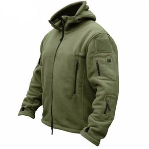 Zogaa Plus Size Men Coat Fleece Tactical Jackets Long Sleeve Zipper Mens Overcoat Outdoor Thermal Sporting Polar Jacket1