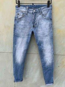 2020 Mens Designer Slim Jeans Denim Jean Retro Ripped Pants Pour Hommes Fashion Brand Biker Motorcycle Rock Revival Jeans High Quality