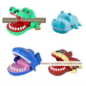 Yeni benzersiz el ısırma oyuncak timsah köpekbalığı Hippo Yaratıcı hile ebeveyn-çocuk interaktif oyun oyuncak Trick