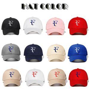 Casquillo del tenis mayor-Roger Federer tenis de Wimbledon sombreros gorra de béisbol del tenis de RF han edición del sol del sombrero