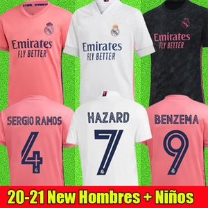 Fußball Trikots Real Madrid 20 21 Gefahr JOVIC MILITAO soccer jersey T-Shirt 2020 2021 kids VINICIUS JR ASENSIO Fußball Trikot Kinder MARCELO ISCO T-Shirt