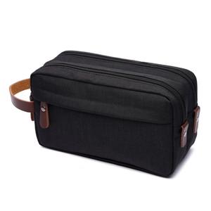 L'uomo spalla sacchetto impermeabile Personal Pocket Zipper Portafoglio Phone Holster Crossbody Strap Borse tas CX200718
