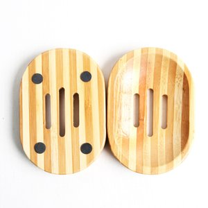 Creative Empty Soap Dishes Bamboo 2 Styles Shower Room Soaps Holders Of Indoor Storage Container Best Selling 3 5wz E1
