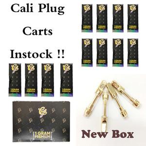 칼리 플러그 카트리지 포장 Vapes 카트 기화기 전자 담배 510 실 Vape 펜 1ml를 0.8 ㎖ 분무기 유리 Vapes 두꺼운 기름 증기