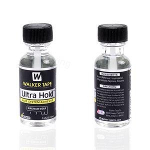 Ultra Hold adhesivo para pelucas de encaje Toupees 0.5oz por Walker cinta adhesiva resistente al agua fuerte pegamento