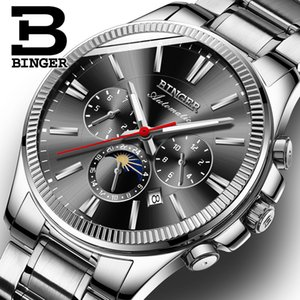 Clearance Price Chen Xiaochun Recommended Binge Genuine Watch Mens Mechanical Watch Mens Watch Sea Blue Gang Black
