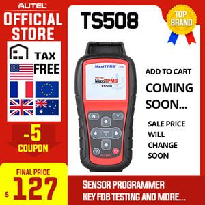 BIENTÔT MaxiTPMS TS508 outil Autel de diagnostic TPMS capteur programmeur OBD 315 433MHZ capteur pneus Voitures Pression de diagnostic automatique