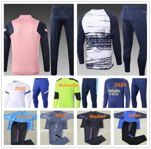 2020 Herren-Fußball-Trainingsanzug Fußball survêtement Joggen 2021 Erwachsene Trainingsanzug hochwertiges Hemd Sport