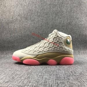 2019 New Arrival Jumpman 13 GS Playground 3M reflection Black white 13s 12 men basketball sports shoes sneakers xshfbcl high