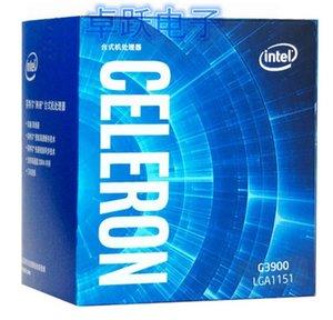 Procesador Intel Celeron G3900 en caja procesador LGA1151 14 nanómetros de doble núcleo 100% funcionando correctamente escritorio