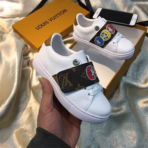 Satış tasarımcı Gerçek Deri çocuk ayakkabıları luxurys Erkekler ve kızlar moda Sneakers Popüler Markalı çocuk spor ayakkabıları Çocuk ayakkabıları hi