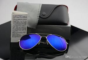 High Quality Polarizer Aviator Men And Women Fashion Sunglasses Brand Designer Retro Outdoor Sports Sunglasses