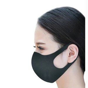 in stock 5pcs bag Party Mask Anti Haze Dust Washable Reusable Women Men Adult Dustproof Mouth-muffle Mask Face Mouth Masks 30x13cm DHL