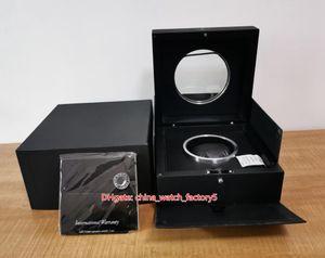 Vendita calda di alta qualità HUB di vigilanza di originale Cartine Carta di vetro trasparente Orologi HUB4100 King Power legno contenitori di regalo della borsa per Bang
