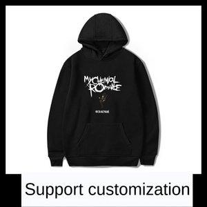 Kapuze Rundhalsausschnitt mit Hut My Chemical Romance My Chemical Romance mit Kapuze Rundhals Pullover sweatersweater mit Hut