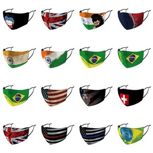 Every Country Flag Cartoon Monkey Faces Individually Packaged Masks Nose Cover Every Country cheap  half off best inexpensive better