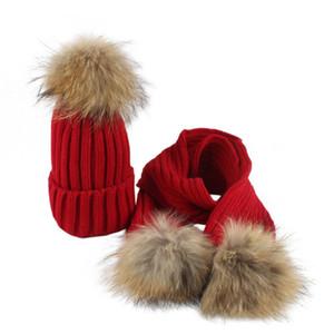 LONSANT Новорожденные Девочки Мальчики Hat зимы теплые малышей Детские шапки Вязаные шапочки трихобезоар малышей Девочки Мальчики Шапки + шарф падения кораблей