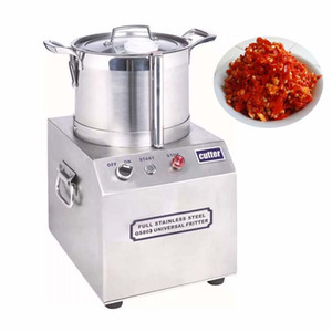 Multifunctional High Speed Meatball Beater 6L Hotel Restaurant ice Food Crusher Electric Ginger Garlic Paste Making Machine Stainless St