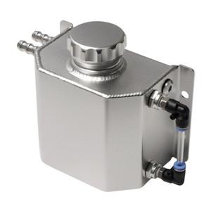 Drenaj Tak Evrensel 1L Alaşım Alüminyum Su Taşma Genişleme Soğutucu Tankı Şişe (Cilalı)