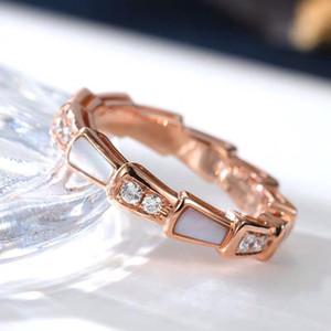 Fashion-Nuovo S925 argento placcato anello 18K Fritillaria Fritillaria rubino con anello di zirconio indice di trapano