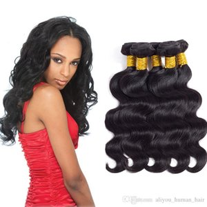 Best Selling Brazilian Virgin Body Wave Human Hair Extensions Brazilian Malaysian Indian Peruvian Cambodian Hair 5 Bundles Remy Human Hair