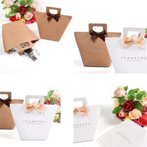 Düğün Kraft Kağıt Çanta Renkli Baskı Hediye Çanta Güzel Ve Güzel Kutu Şeker Snacks Packings Yumuşak 0 65ss E2