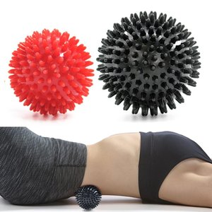 7.5CM / 9CM ПВХ Рука Фитнес Бал высокой плотность Spiky массаж мяч триггерного расслабление мышц ноги / назад / шеи / Leg боль