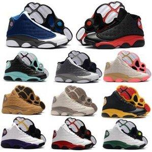 13 13s Мужские баскетбольные кроссовки обувь Женщины Jumpman Китайский Новый год Разводят Рэй Аллен PE OG Flint Island Green Lakeres Чикаго черри обувь