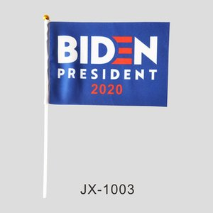 Hand Flags for Biden President , 2020 USA President Election 100% Polyester All Countries, professtional factory of flags and banners