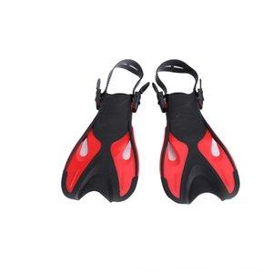 ZP4Ki rana entrenamiento de natación zapatos de buceo artefacto formación zapatos de la rana de tamaño ajustable de buceo natación aletas de buceo adj artefacto