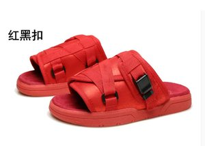 23 color Fashion Fringe Men Canvas Slippers Male Summer shoes Slides Slip-resistant beach slippers Flip Flops sandals 36-45 cs08