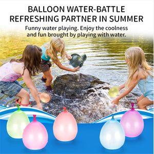 풍선 물 다채로운 무리 어린이 장난감에 대한 물 풍선 게임을 채우는 풍선 놀라운 마술 물 풍선 폭탄 완구 작성