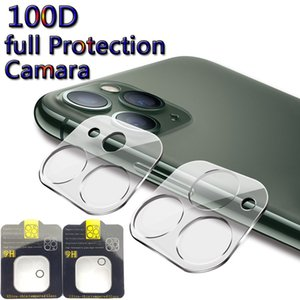 Camera Protection Glass For iPhone 11 11 Pro Max Full Cover Lens Screen Protector For Samsung S20 S20 Ultra Tempered Glass with retail pack